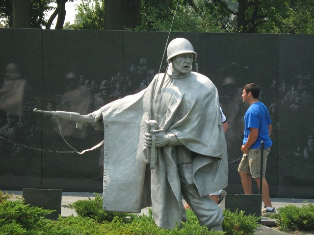 Korean War Veterans Memorial, Waszyngton