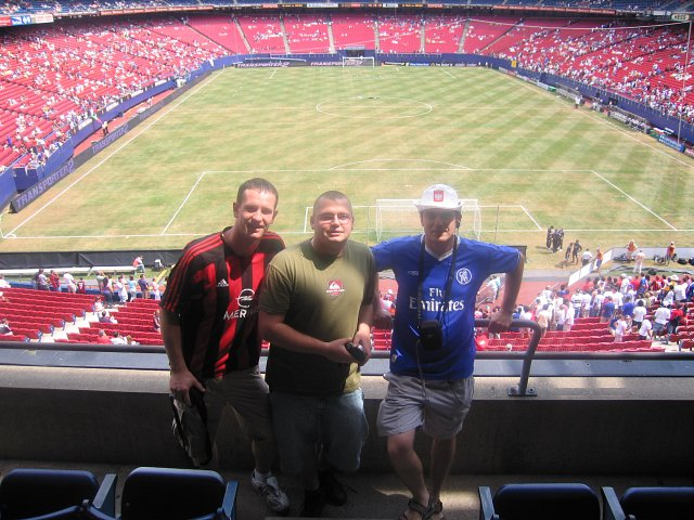 chelsea vs. milan - giants stadium