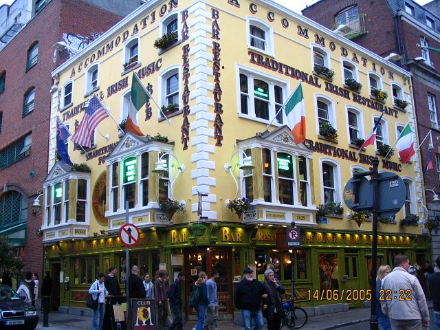Dublin - na Temple Bar