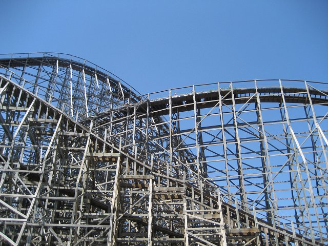 roler coster w cedar point w ohio