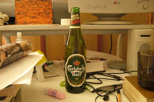 Carlsberg...probably the best beer in the world.