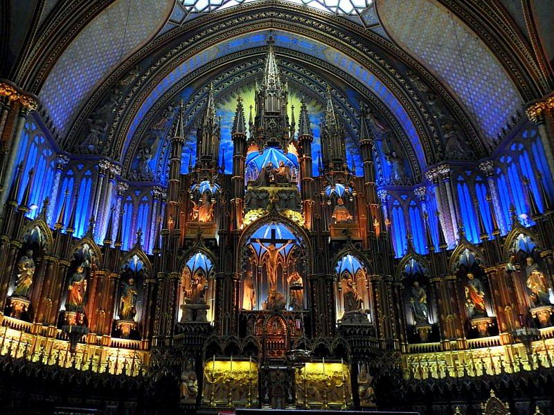 Notre-Dame Basilica of Montreal (3)