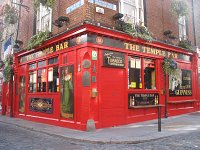 The Temple Bar. Dublin Irlandia.