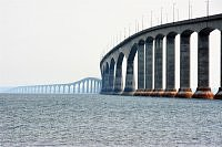 confederation bridge from new