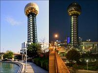 Sunsphere - symbol miasta Knoxville.